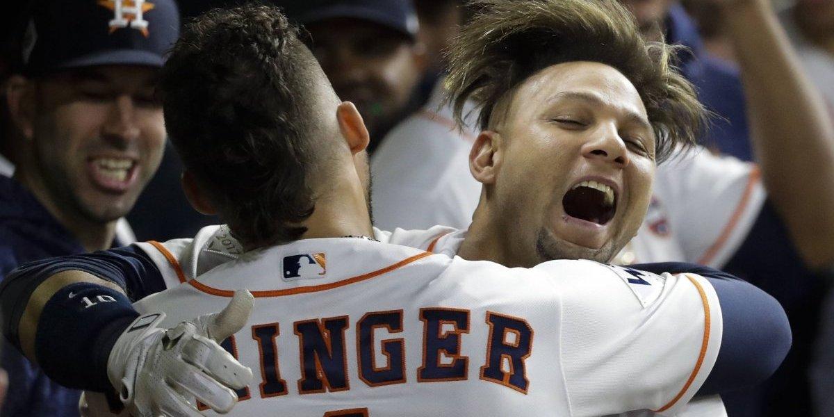 Astros toman ventaja en la Serie Mundial ante los Dodgers