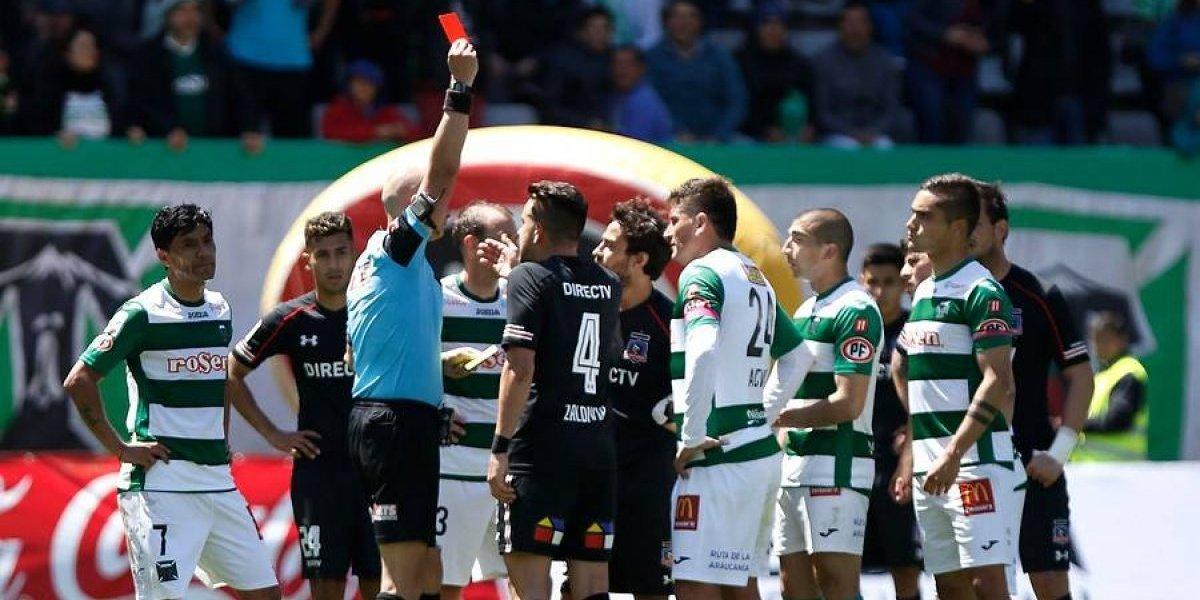 Colo Colo es puro nervios: seis rojas en el Transición y eso que acusaron persecución arbitral