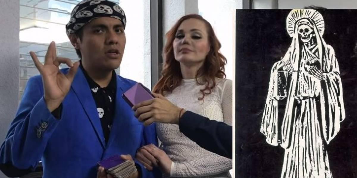 La Santa Muerte festeja XV años en Ecatepec amadrinada por Carmen Campuzano