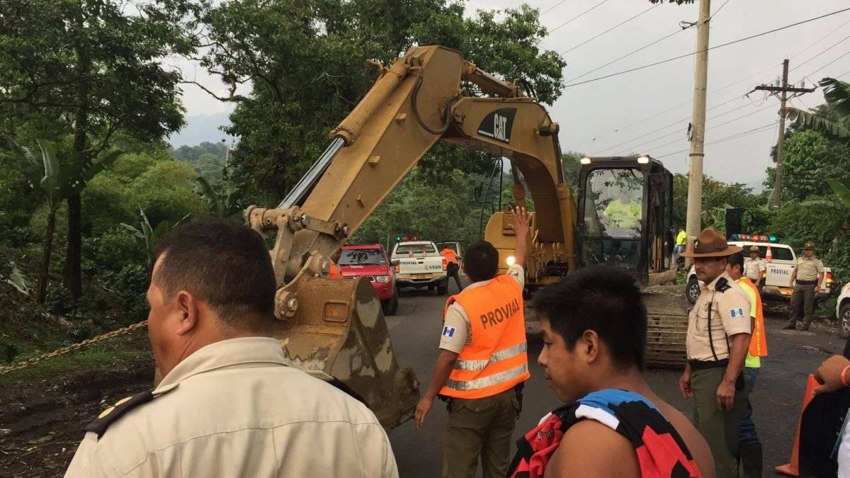 Covial ayuda al camión de Hino