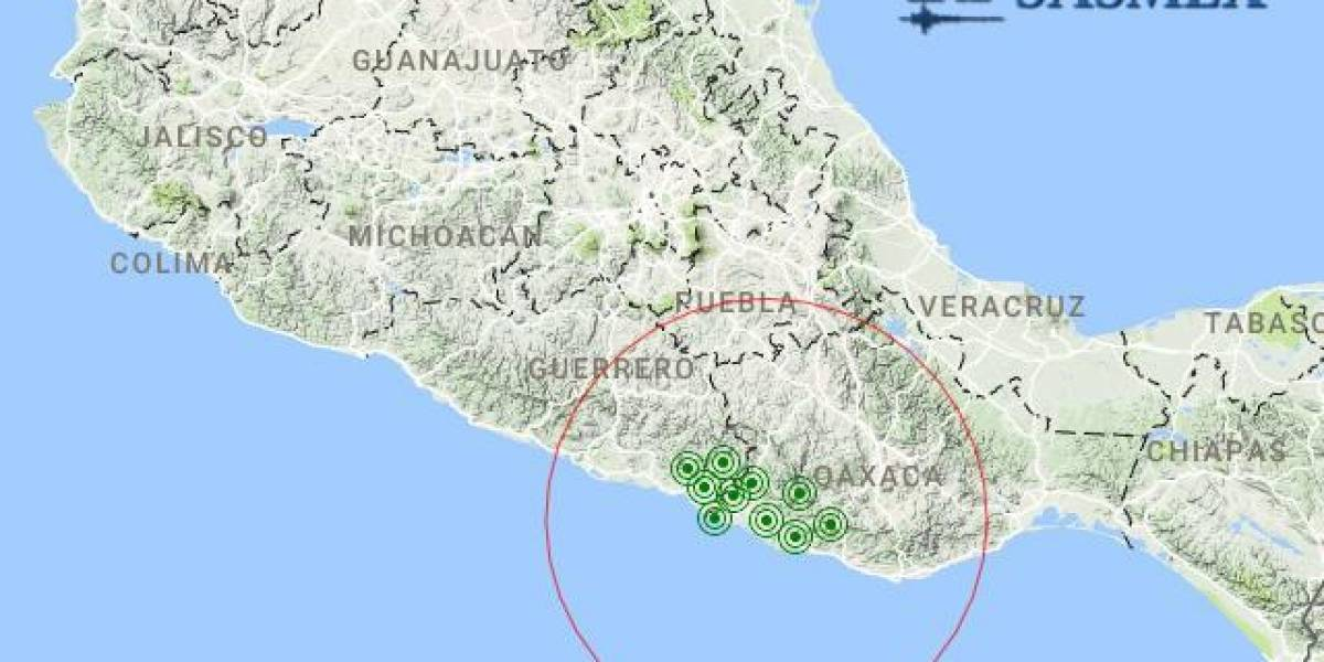Sismo hoy 28 de octubre de 2017 en Pinotepa Nacional, magnitud 5.0