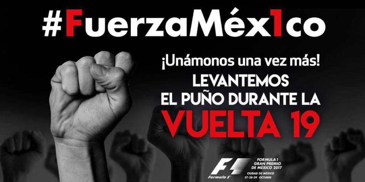 Gran Premio impulsará campaña #FuerzaMex1co