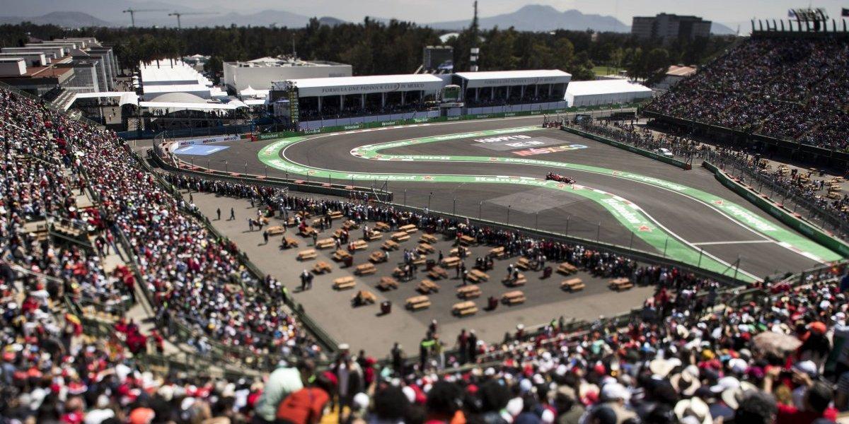 México quiere extender su contrato con la Fórmula 1