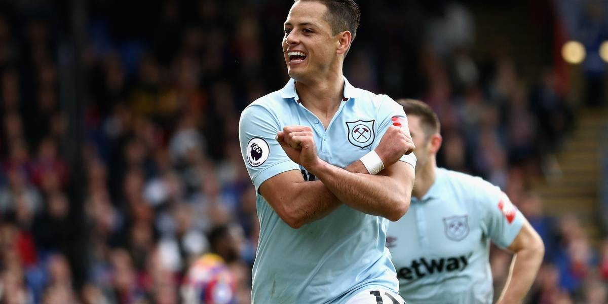 VIDEO: Chicharito marca su cuarto gol con West Ham