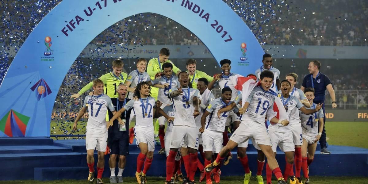 Inglaterra se coronó en el Mundial Sub-17 derrotando a España