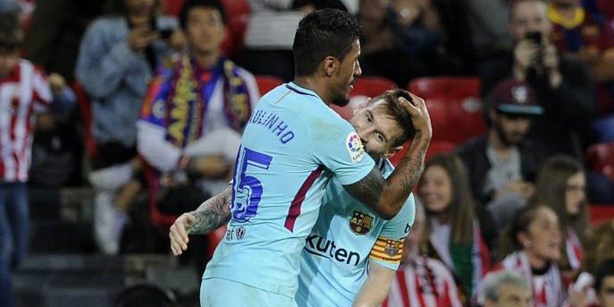 Barcelona se impone con claridad al Athletic en San Mamés