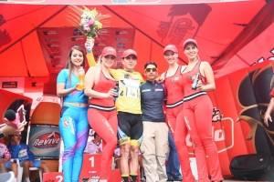Manuel Rodas por primera vez en el podio