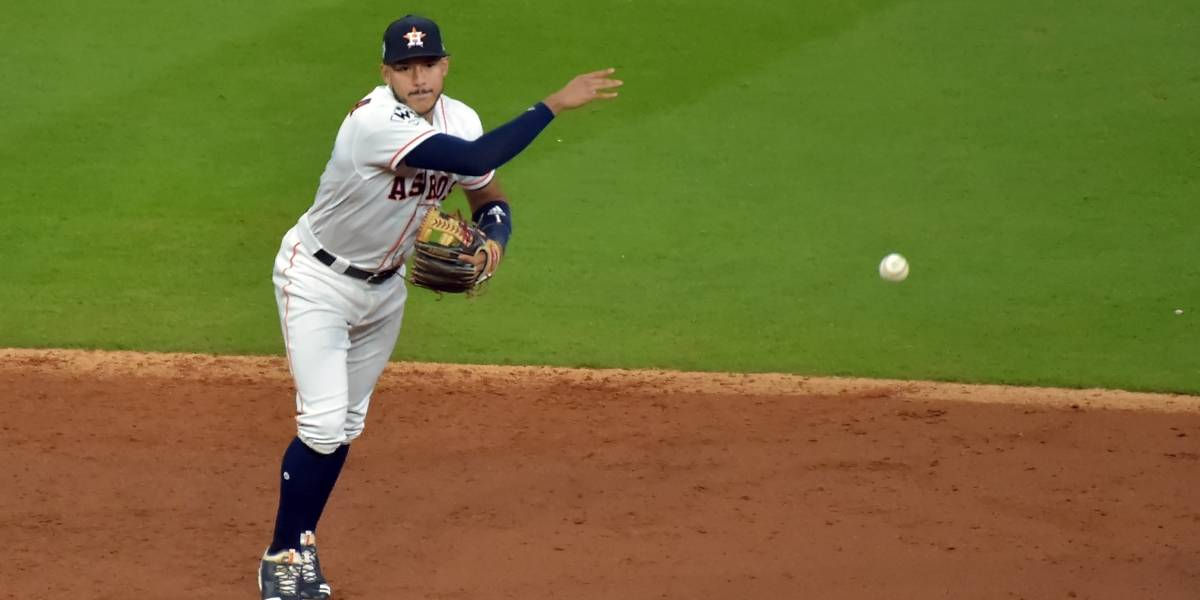 Correa mantiene a Puerto Rico en su corazón durante la Serie Mundial