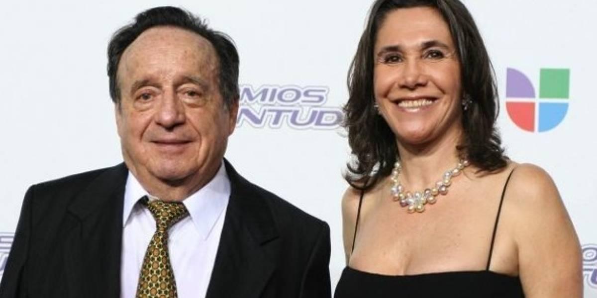 ¿Florinda Meza olvidó a Chespirito con otro hombre?