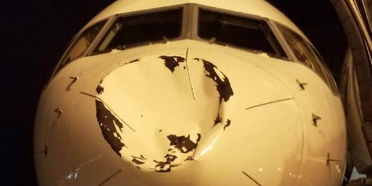 Avión de los Thunder de Oklahoma chocó con pájaro en vuelo, según aerolínea