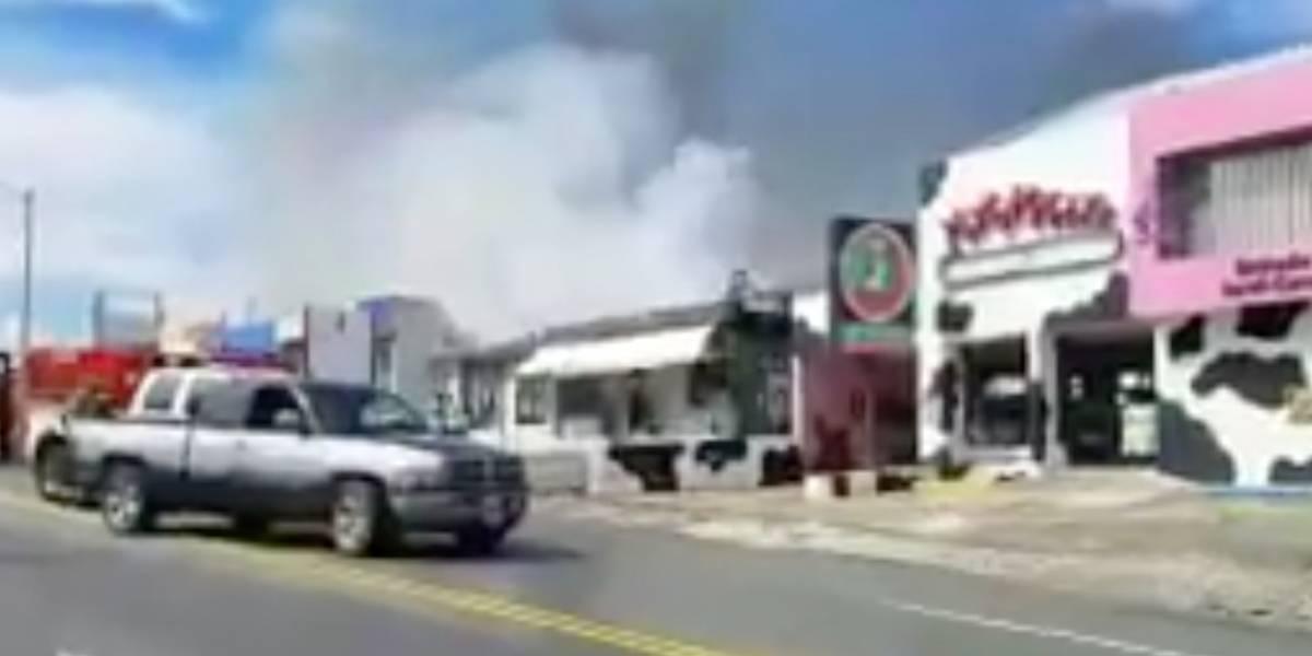 Se incendia un salón de belleza en San Juan