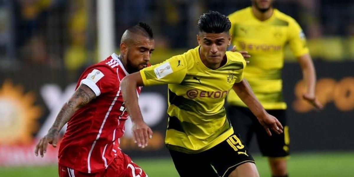 Duro sorteo para Vidal: Bayern Munich se cruzará con Borussia Dortmund en la Copa de Alemania