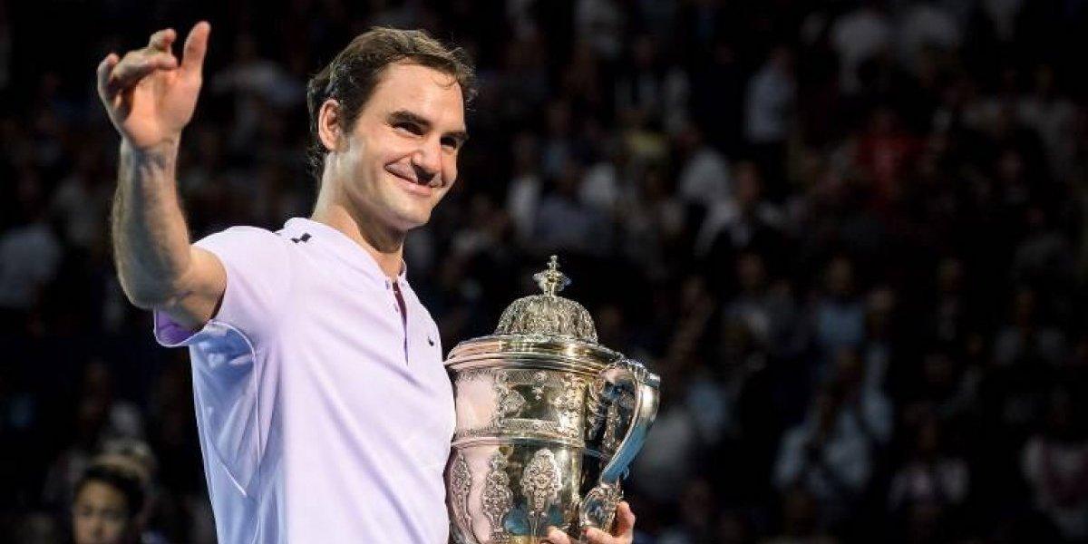 Federer gana el torneo de su casa, pero le cede el Nº1 del 2017 a Nadal
