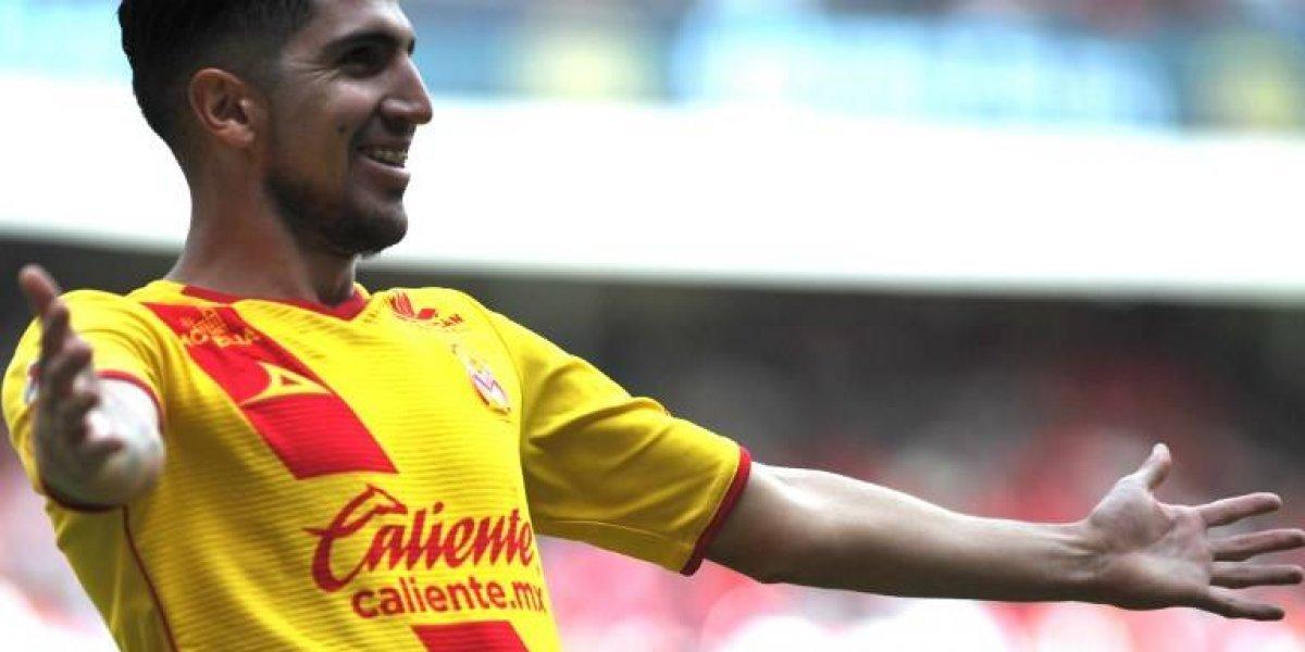 Diego Valdés le da la victoria al Morelia que se encumbra en México