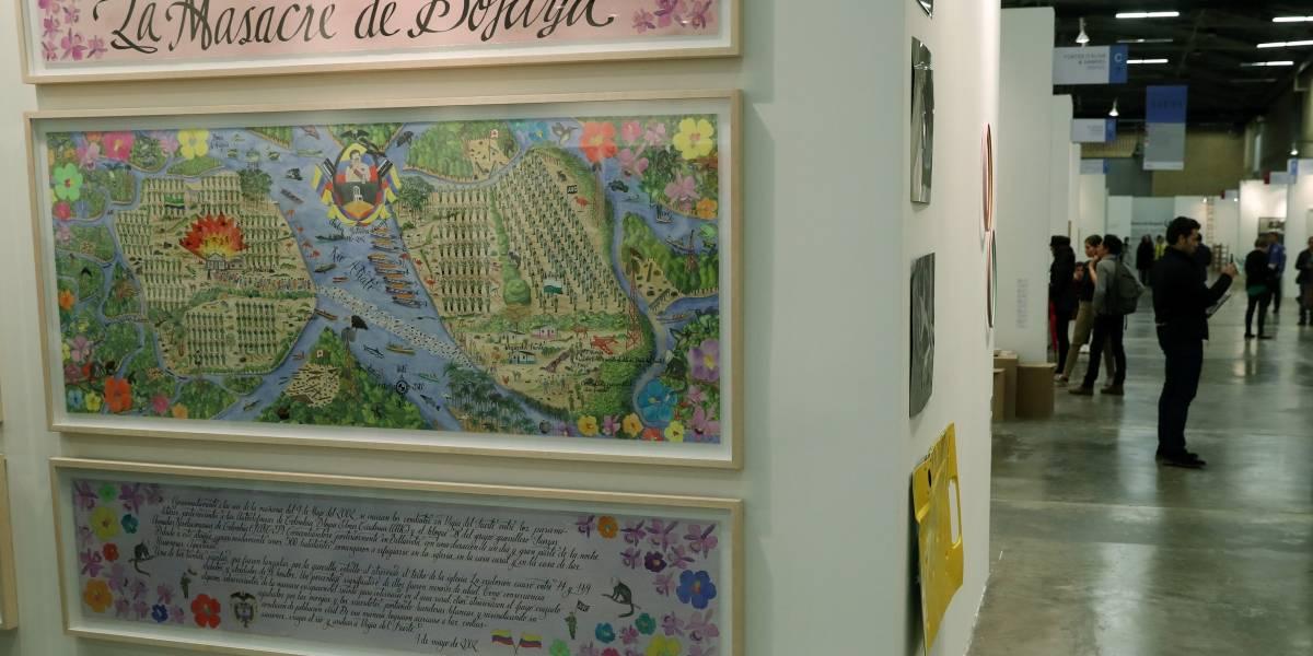 Colombiano recurre al arte para que el país no olvide sus tragedias políticas