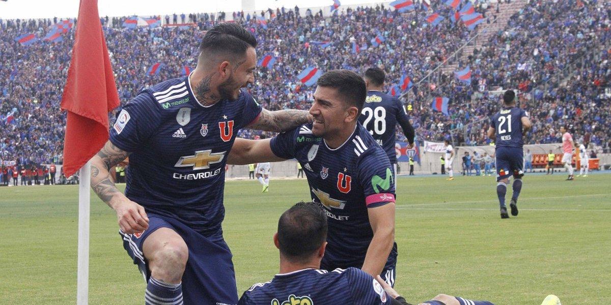 Uno a uno de la U ante la UC: Herrera salvó el mezquino triunfo y Pizarro puso fantasía