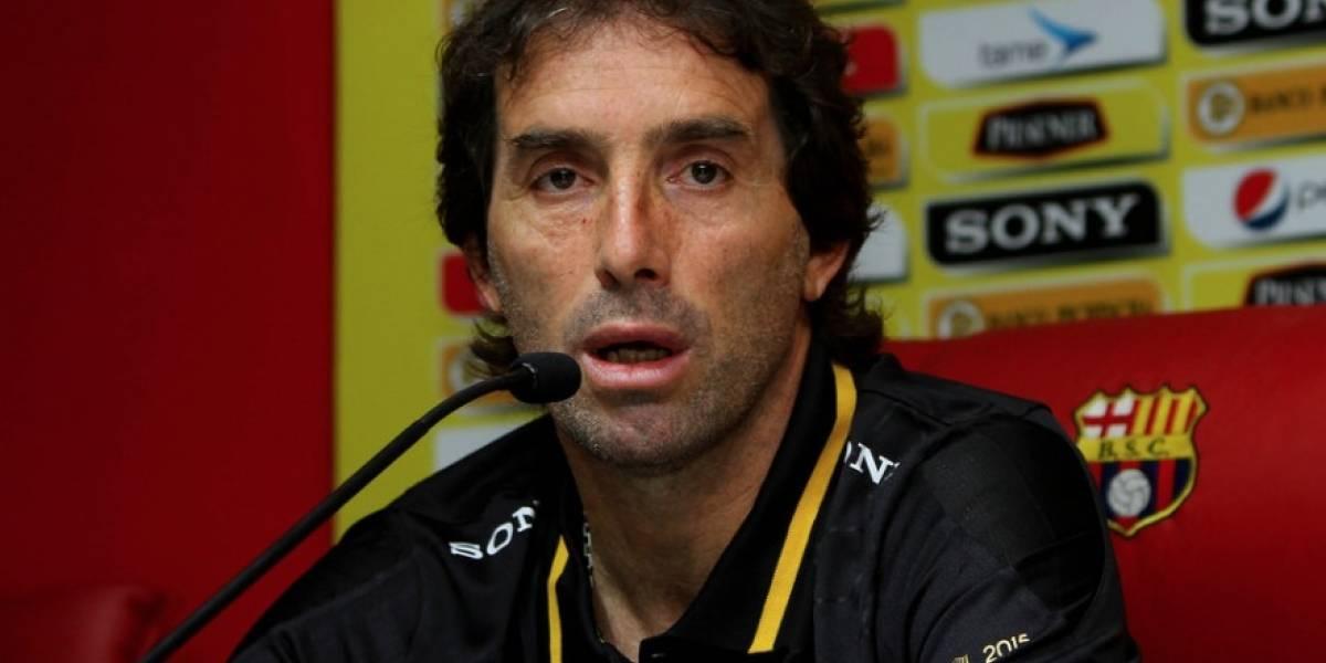 Guillermo Almada habló del triunfo ante Liga de Quito