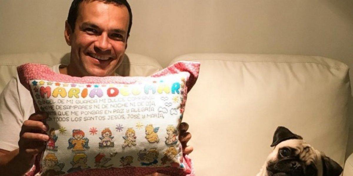 ¡Juan Diego Alvira ya es papá! Vea la tierna foto de su bebita