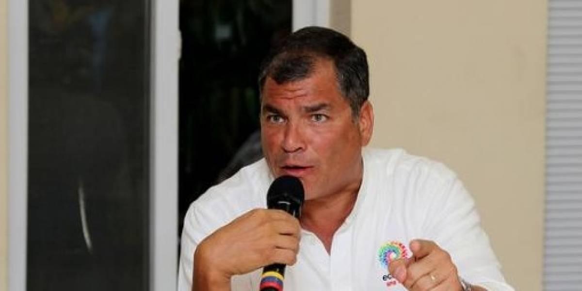 """Rafael Correa: Cada semana un """"escándalo"""""""