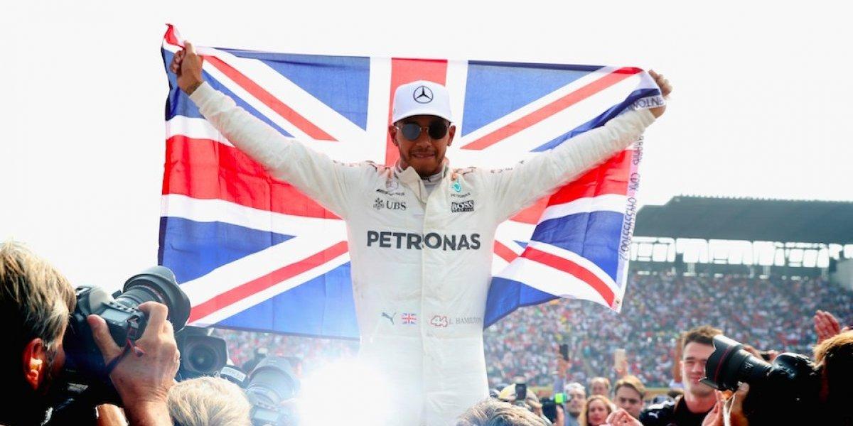 El emotivo mensaje de Hamilton tras conseguir su cuarto título de la F1