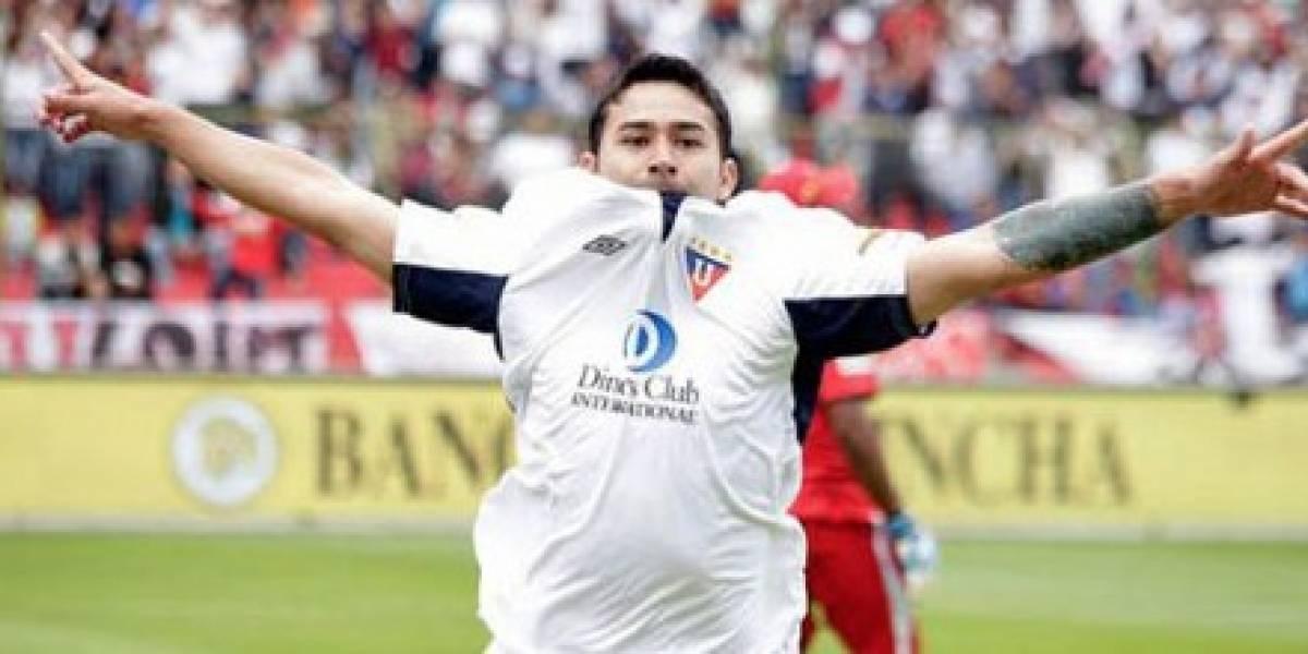 'El Taca' Bieler publicó tuit que enfureció a hinchas de Barcelona SC