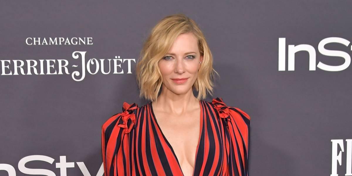 Cate Blanchett diz que foi assediada por Harvey Weinstein