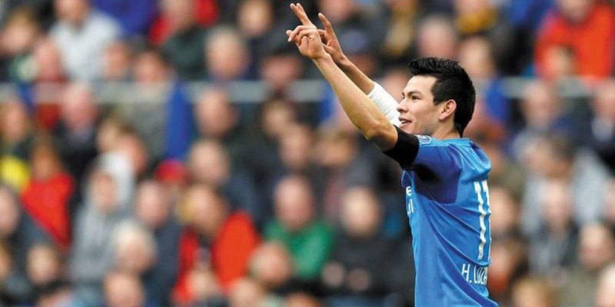 ¡Endemoniado! Hirving Lozano firma doblete, asiste y PSV gana