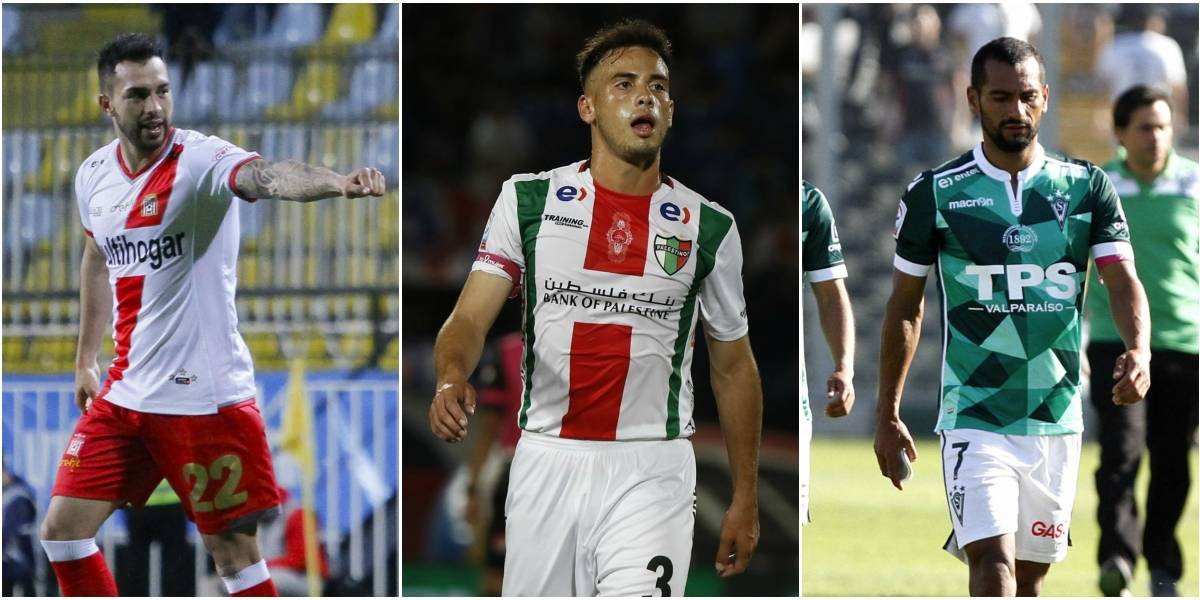 ¿Palestino, Wanderers o Curicó? El camino para no descender a Primera B