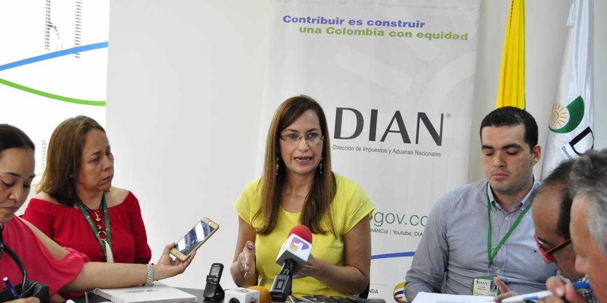 """Dian """"se tomó"""" establecimientos al norte de Barranquilla """"a la caza de evasores"""""""