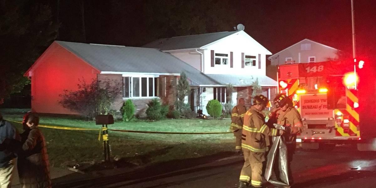 Tres niños mueren por incendio en Pensilvania