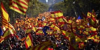 Marcha en Cataluña