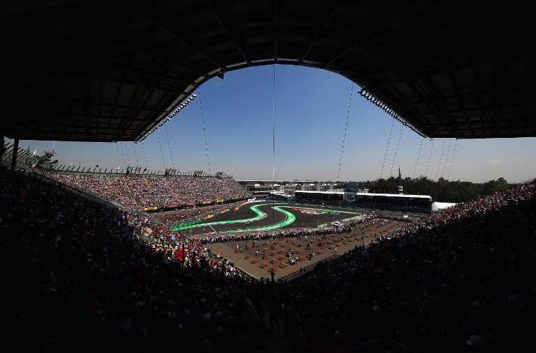 Panorámica del GP de México