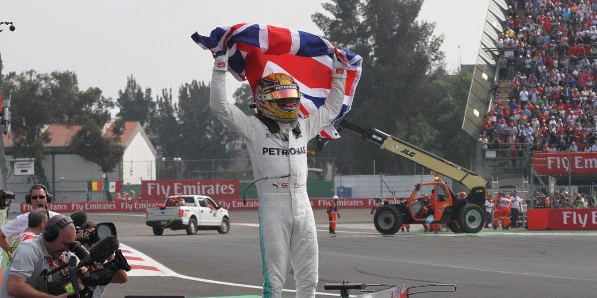 GP de México culmina con título para Lewis Hamilton; Sergio Pérez finaliza séptimo