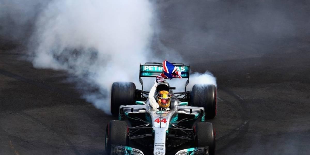 Gran Premio de México: Lewis Hamilton se proclama campeón por cuarta vez