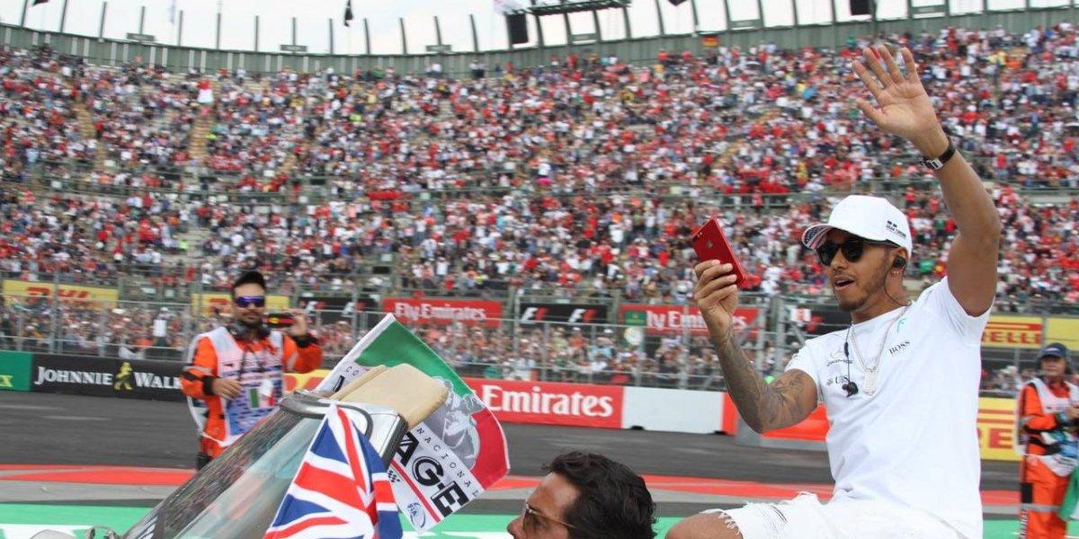 ¡Hamilton se corona en el GP de México!