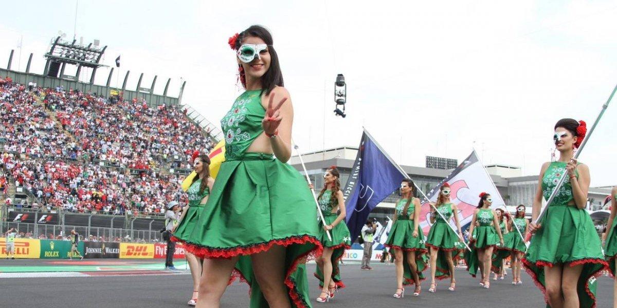 Las chicas del Gran Premio de México
