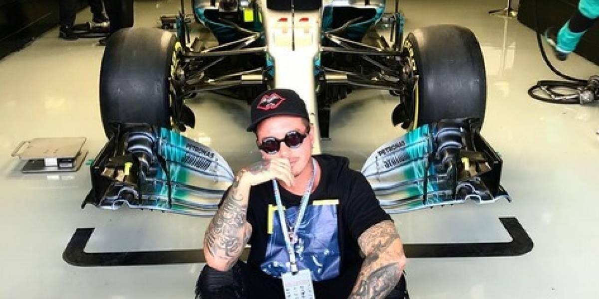 FOTOS: Famosos 'corren' la Fórmula 1