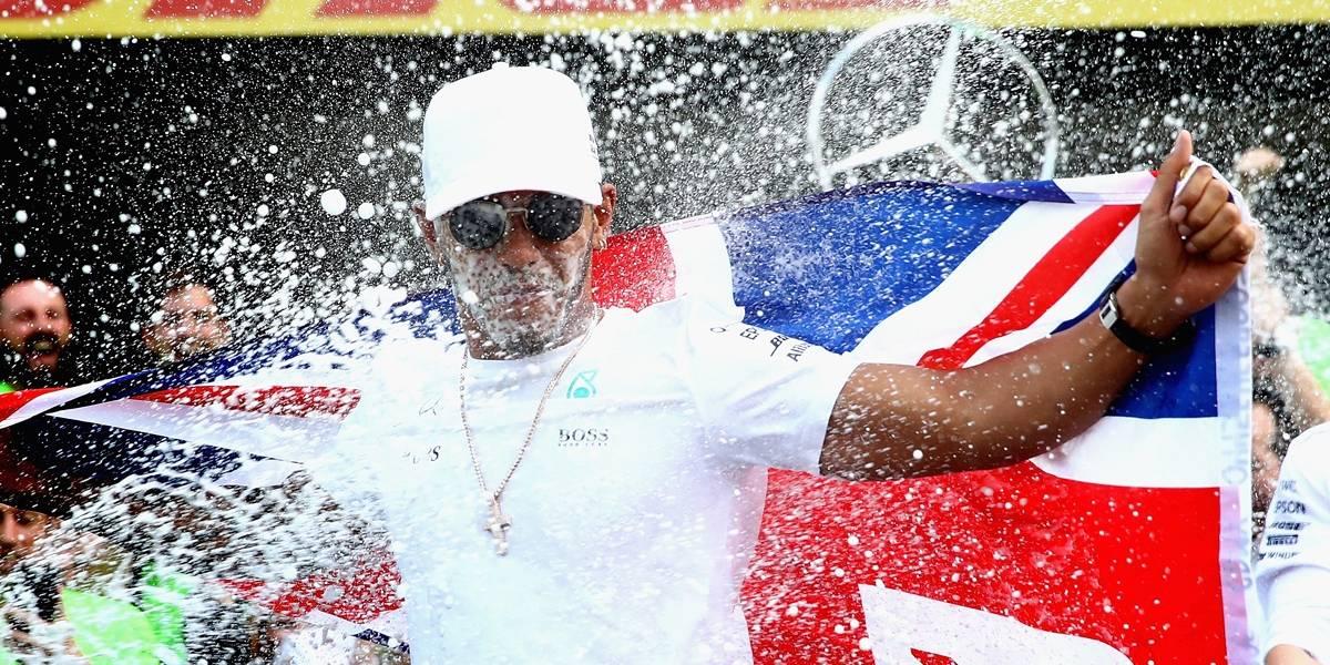Hamilton descarta recorde de Schumacher e mira alcançar penta de Fangio