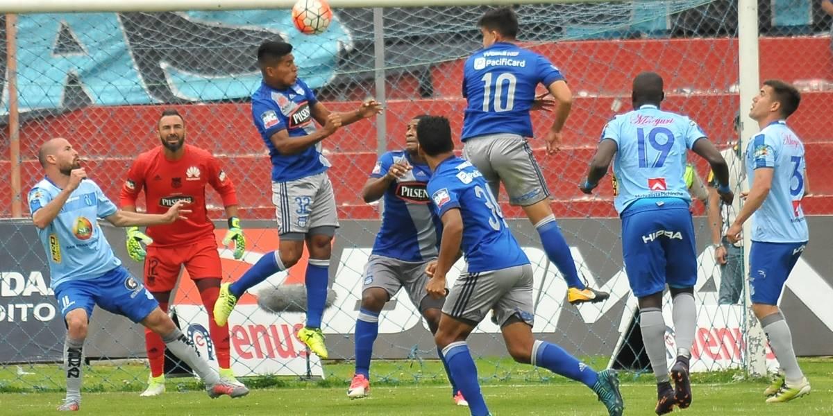Emelec cae ante Macará y Delfín recupera la punta del campeonato ecuatoriano