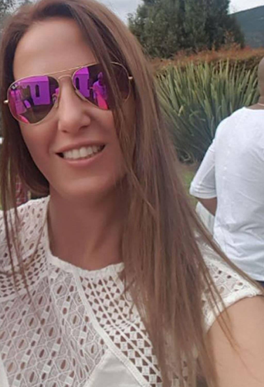 Natalia Gueren es la esposa de Omar Pérez, jugador del Santa Fe Instagram