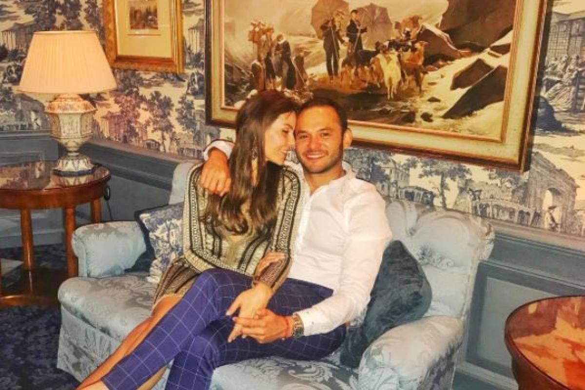 Paula Andrea Betancur y Luis Miguel Zabaleta Instagram de Paula Andrea Betancur