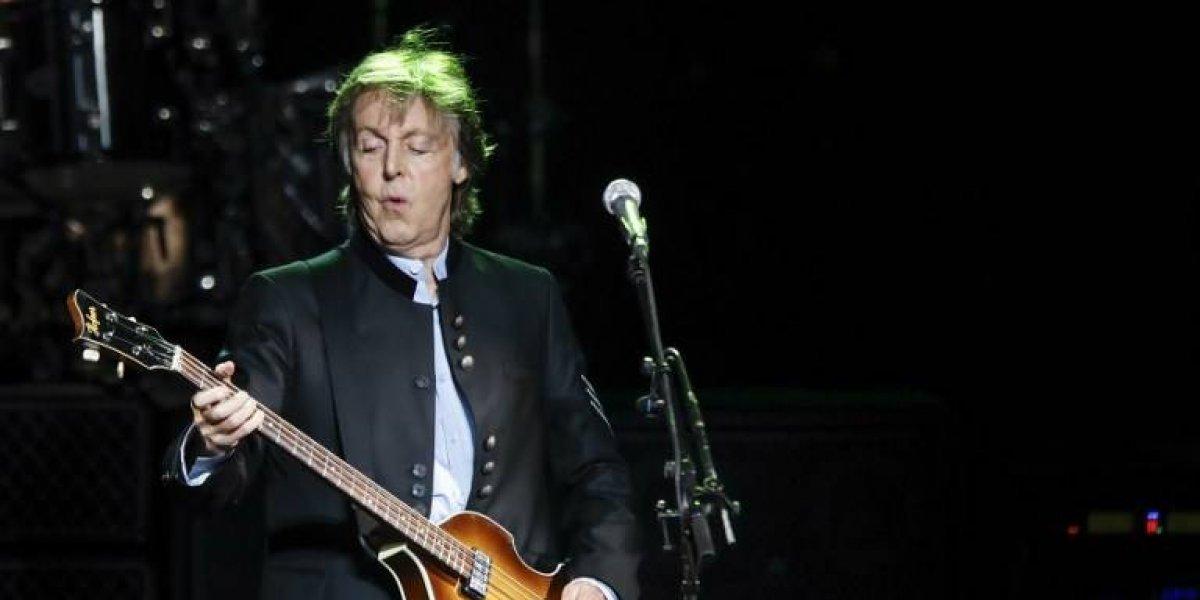 """FOTO. Paul McCartney anima a mexicanos tras sismos: """"¡Fuerza México!"""""""