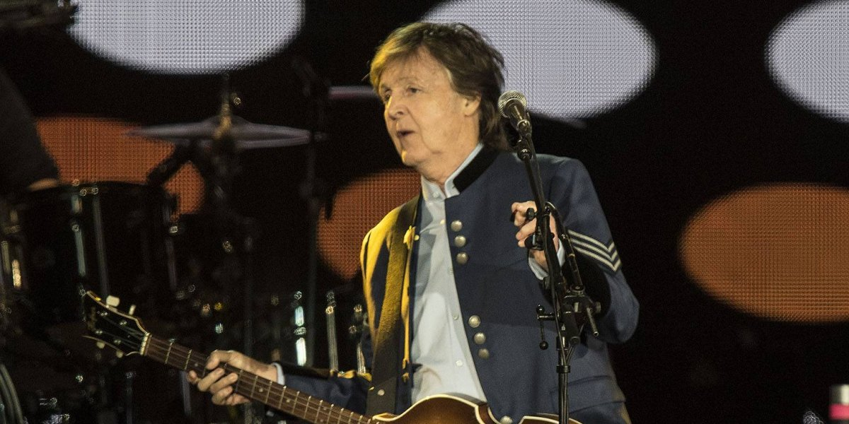 Paul McCartney ofrece memorable concierto en el Estadio Azteca