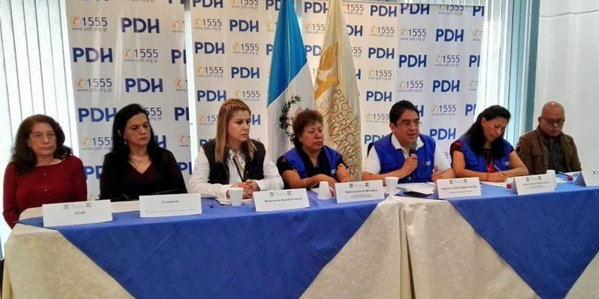 PDH se queja de que Cancillería los deja afuera sobre revisión de los derechos humanos
