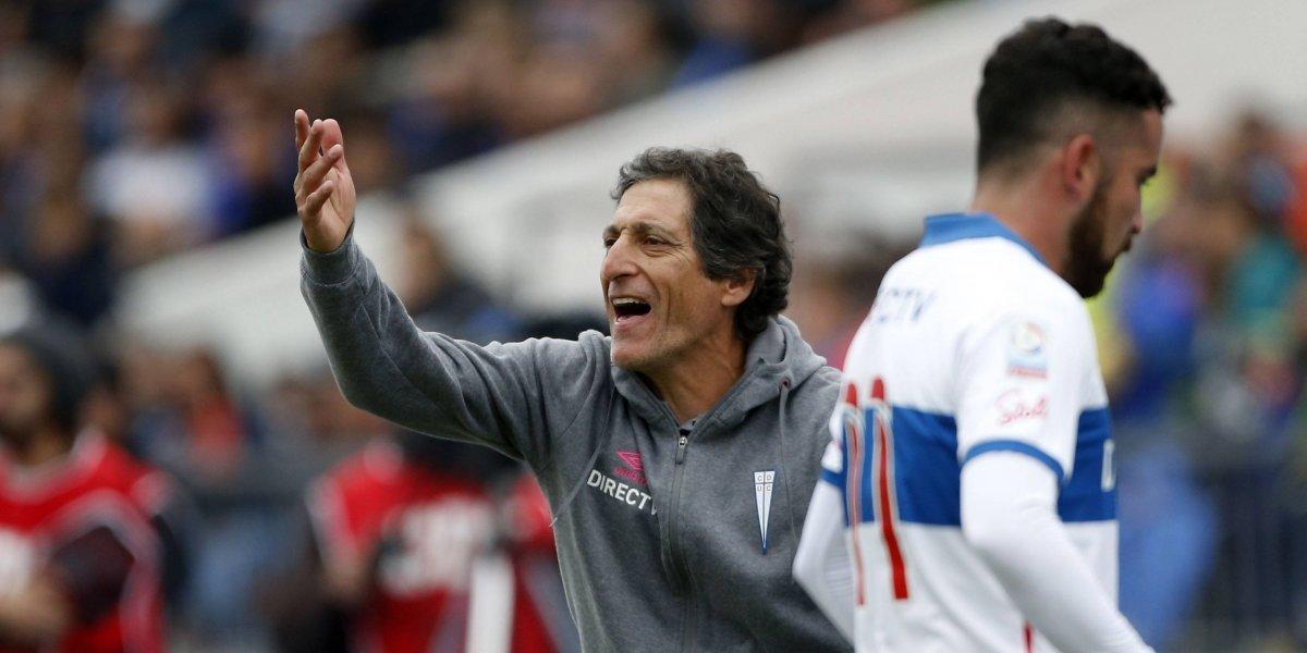 """Salas alabó la superioridad de la UC ante la U: """"No me gusta perder, pero me voy tranquilo a la casa"""""""