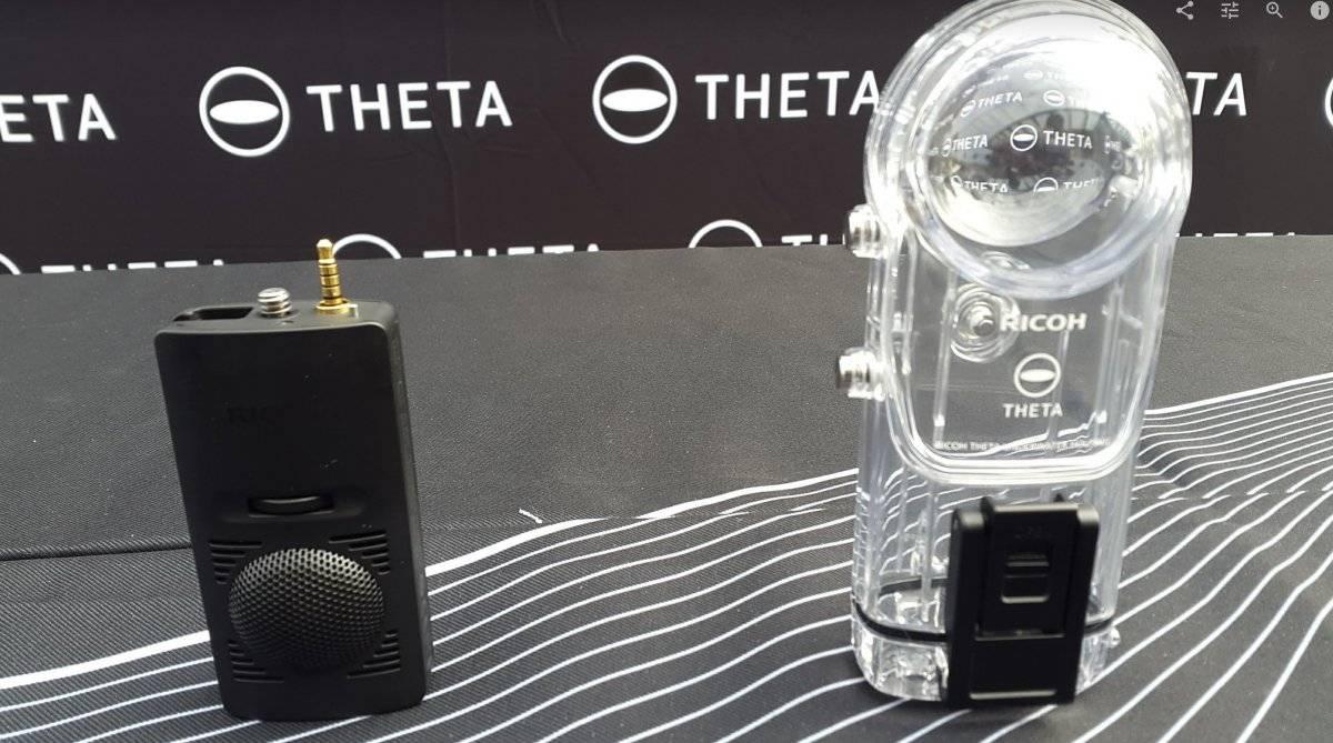 Esta cámara te seducirá por su imagen en 360º.