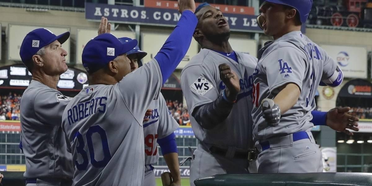 Dodgers callan a Houston y empatan la Serie Mundial