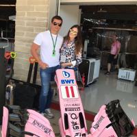 Famosos en la F1.