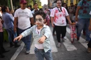 Zombie Walk Guatemala 2017