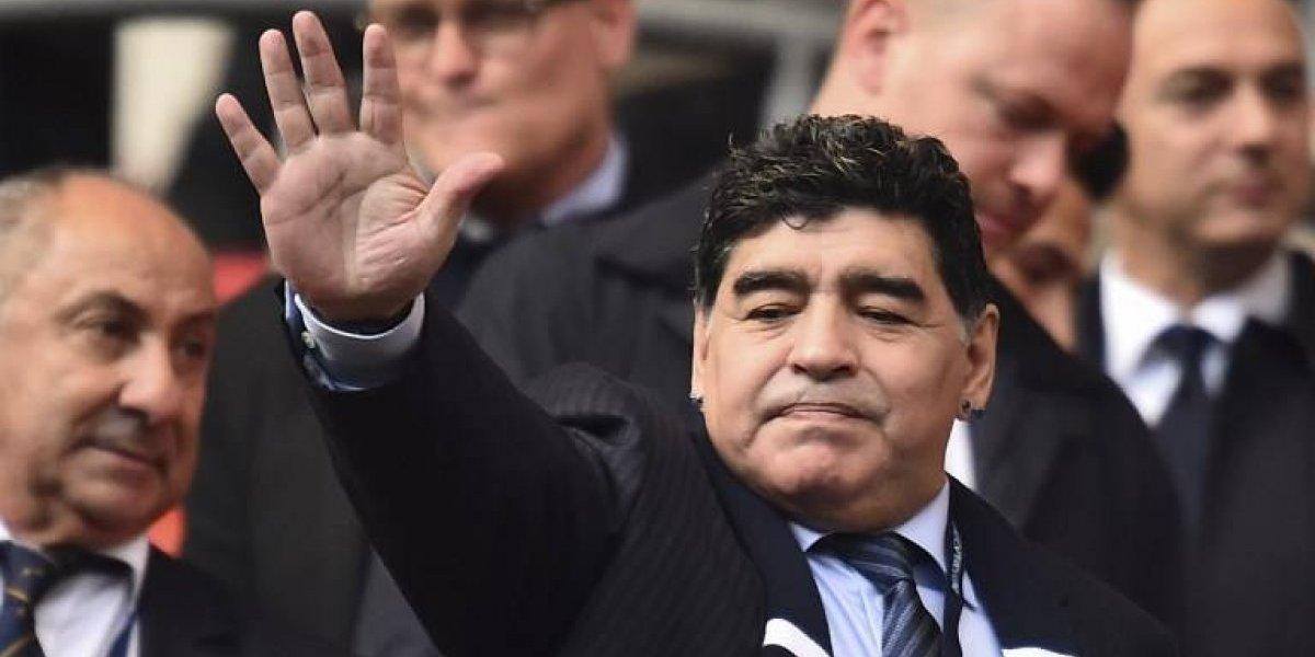 """""""Felices 57 para mí"""": el autosaludo de Diego Maradona que enloqueció a sus fanáticos"""